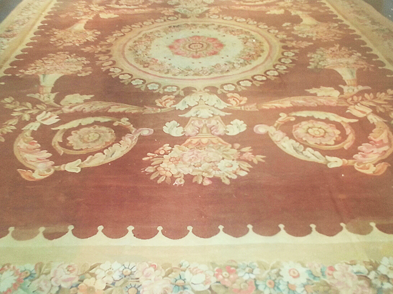 Empire Aubusson Rug - 12ft 9in x 16ft 5in -Circa. 1800 -1815 (Early 19thCentury)
